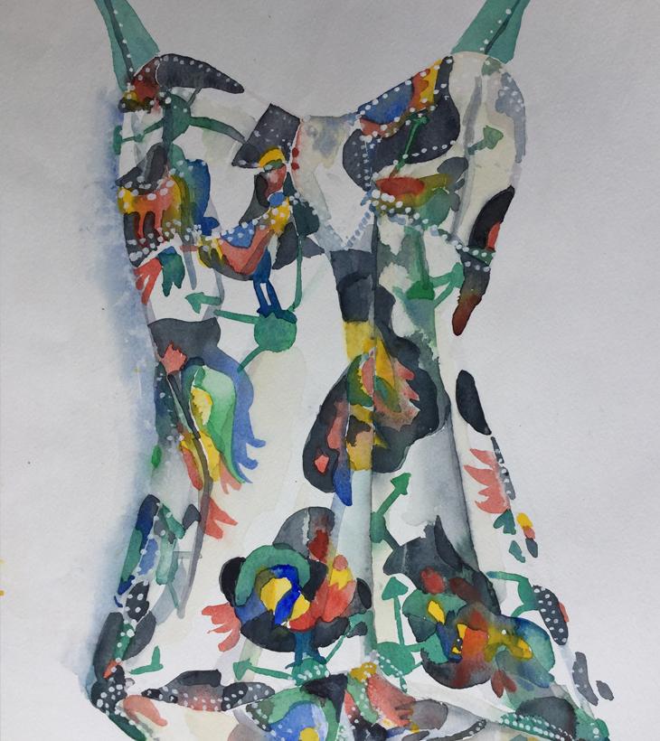 Lizzy Harvey   Artwork - Vintage Costume
