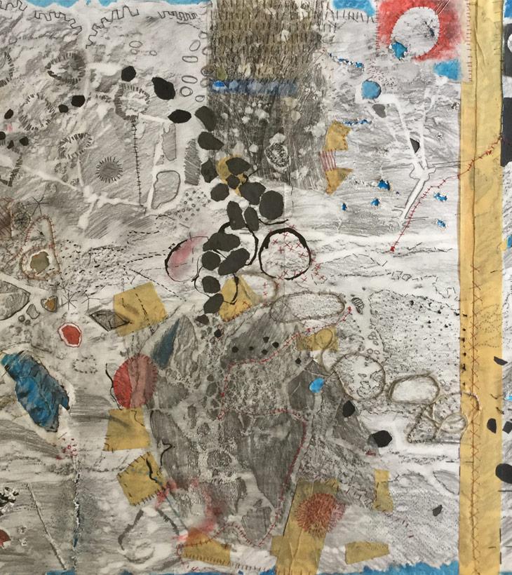 Lizzy Harvey | Artwork - Map Puglia